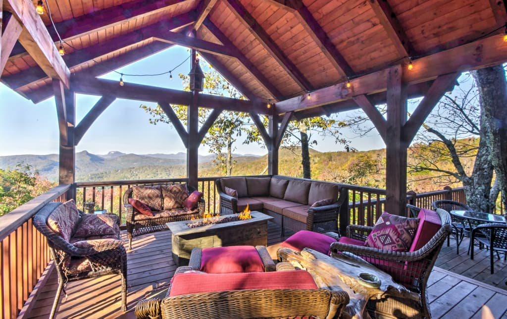 Luxurious 4BR Sapphire Cabin W/Unrivaled Views