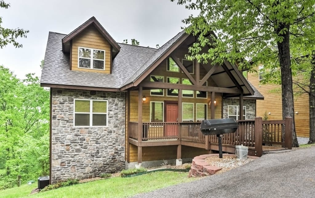 6br Branson Cabin Walk To Silver Dollar City