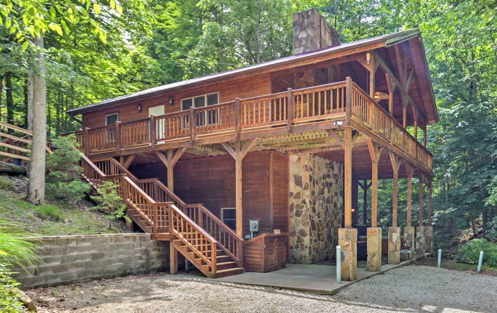 Lakewood Cabin W Spa Creek By Red River Gorge