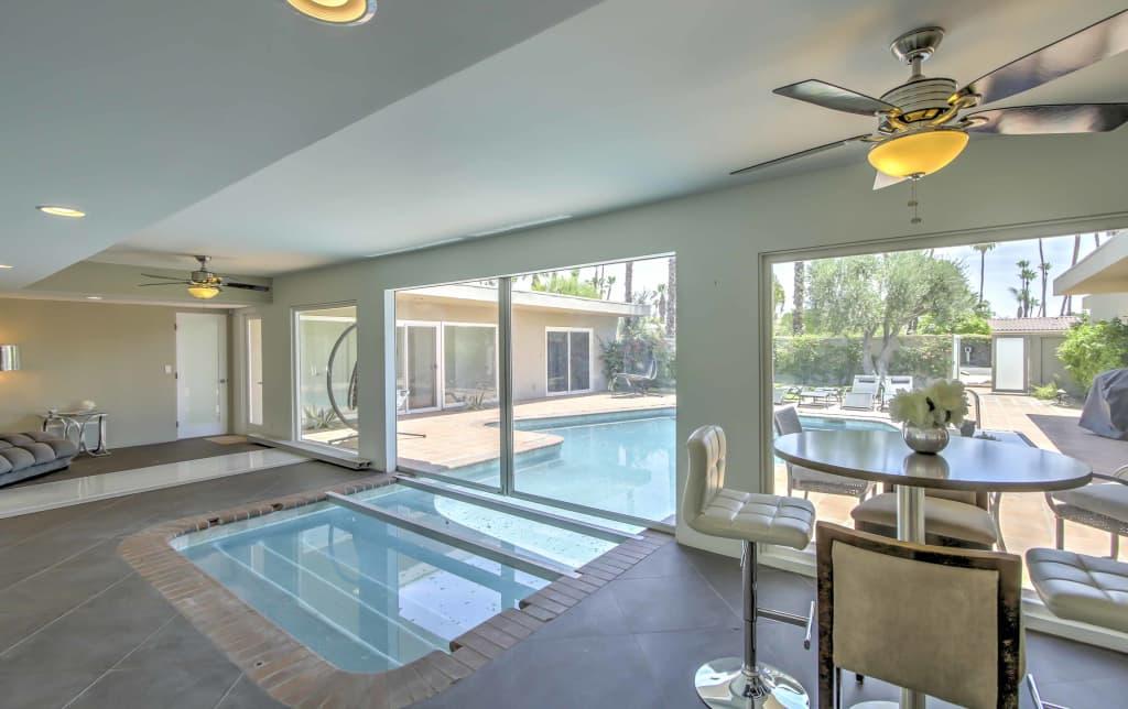 Rancho Mirage Home w. Indoor/Outdoor Pool+Mtn View