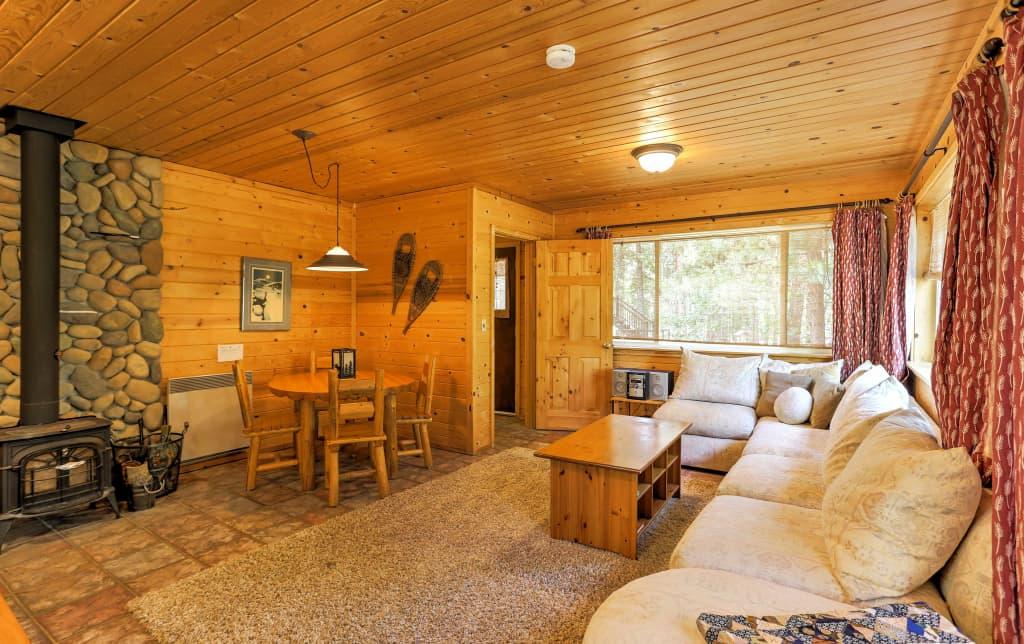 Romantic Riverfront Cottage 1 Mile To Winthrop