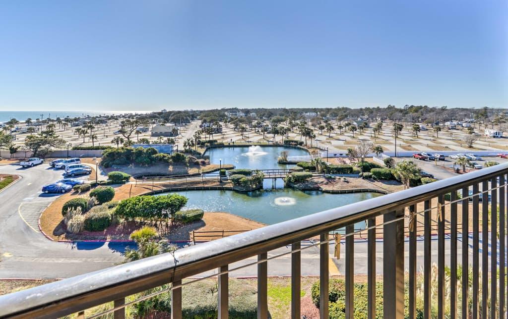 Myrtle Beach Resorts >> Oceanview Condo At Myrtle Beach Resort W Pool