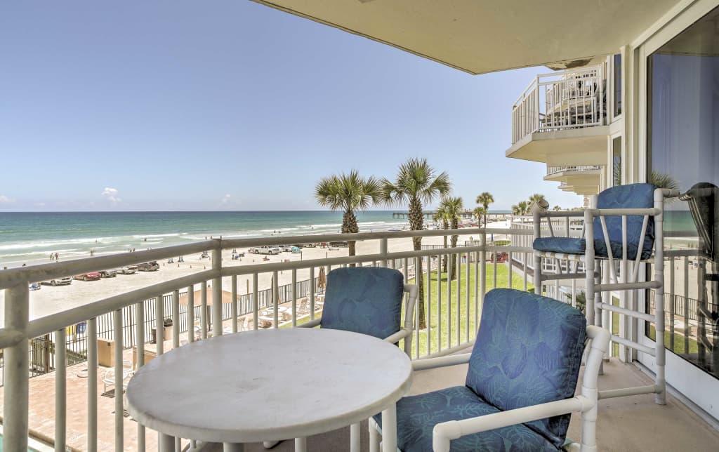 0ffb60329d294 Daytona Beach Condo w Ocean View   Pool Access!