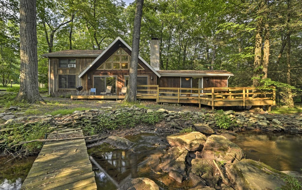 Admirable Secluded Home W Deck On Stream Mins To Camelback Download Free Architecture Designs Viewormadebymaigaardcom