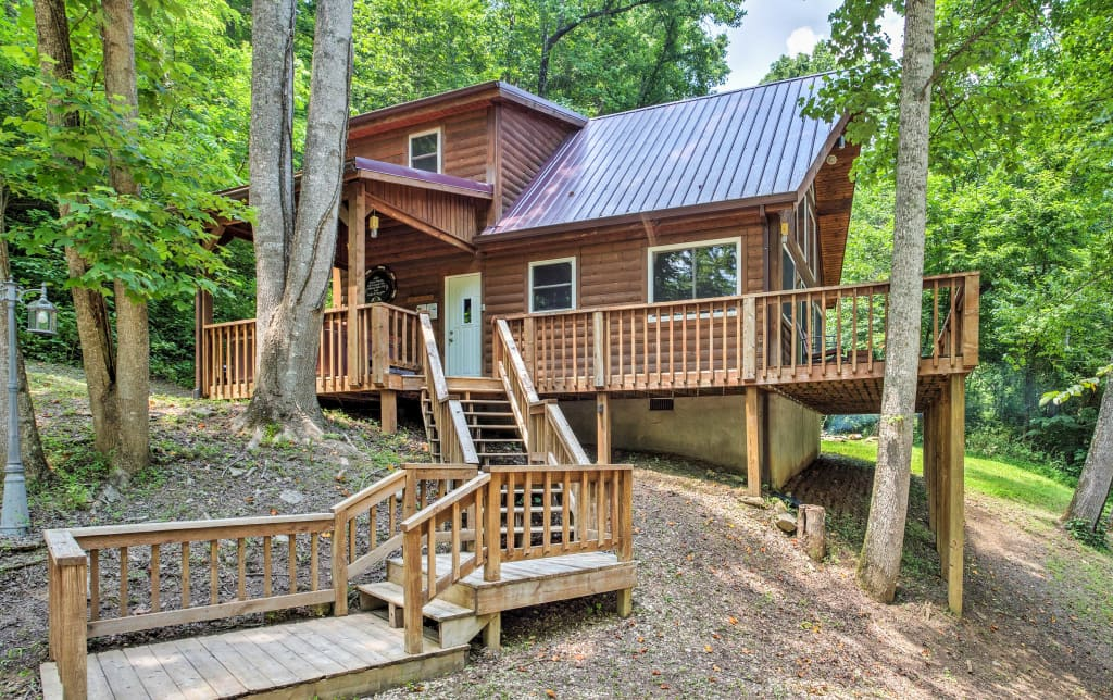 Mountain Spirit Cabin 2br Red River Gorge Home