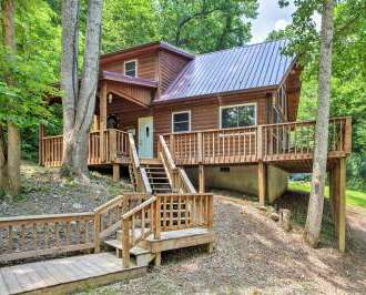 U0027Mountain Spirit Cabinu0027 2BR Red River Gorge Home!