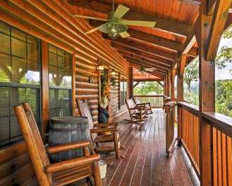Smokies View' 3BR Wears Valley Cabin w/ Mtn View!