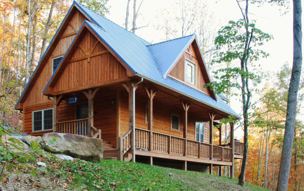 Charmant U0027Blues Moonu0027 Serene 2BR Red River Gorge Cabin!