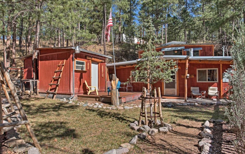 Black Bear Canyon Ruidoso Home W Bunkhouse
