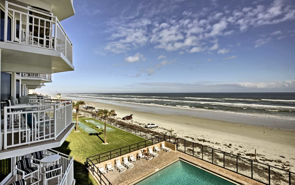 Image result for daytona beach shores condo view