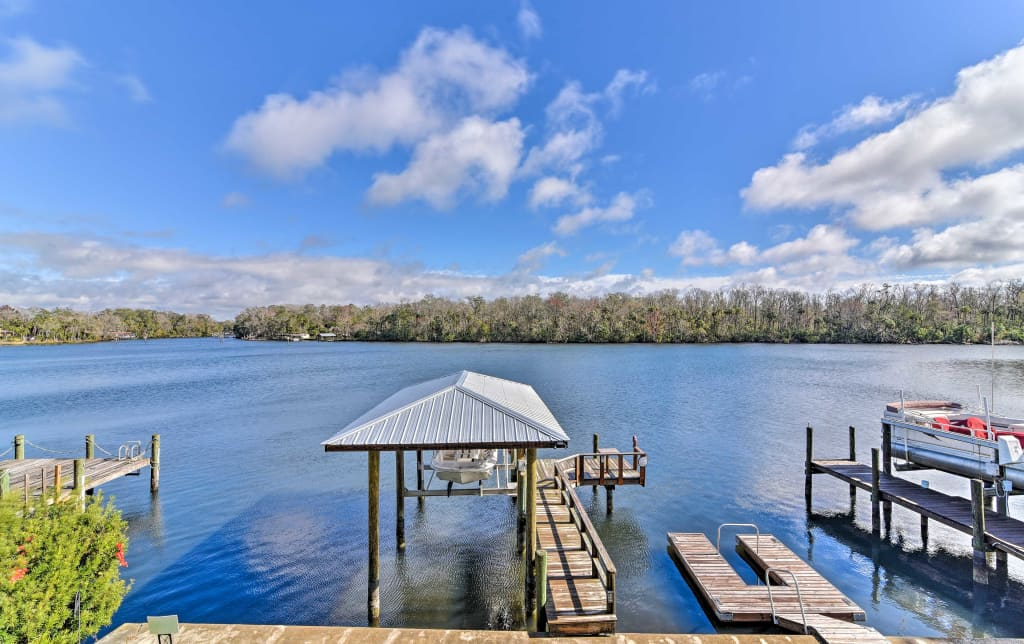 homosassa home w private river dock boat ramp