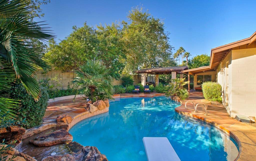 Luxury Phoenix House w/Entertainment Patio & Pool!