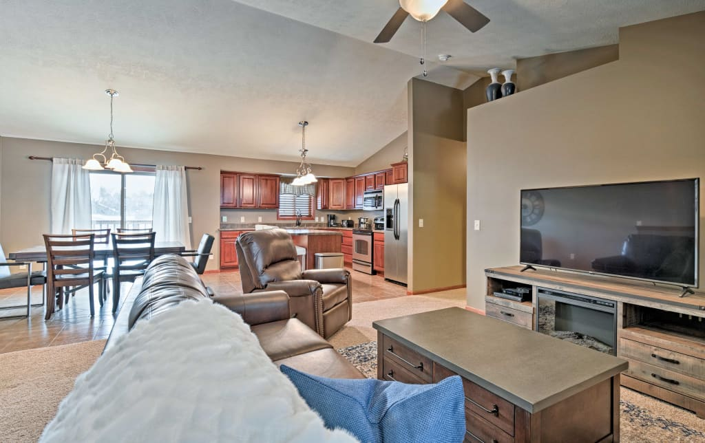 Sioux Falls Townhome 9 Mins To Empire Mall More
