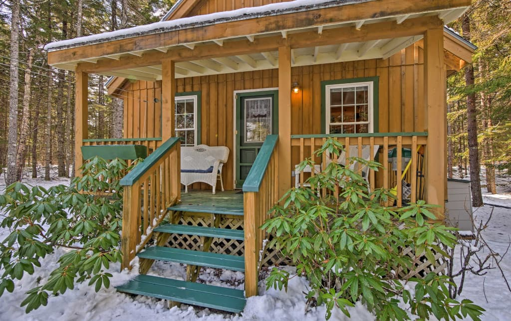 Surprising Loft Cabin W Outdoor Patio Near Acadia Natl Park Best Image Libraries Barepthycampuscom