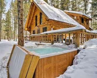 cabin bartoncabin vacation properties outdoor private home hot barton tub colorado cabins skyrun breckenridge