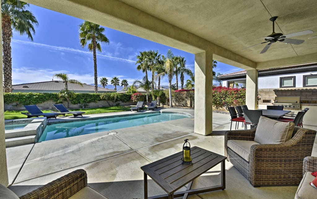 NEW! Spacious Palm Desert Home w/Pool & Jacuzzi!