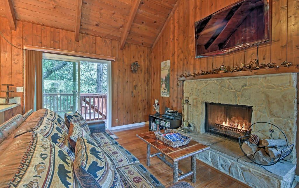 Ideal Cabin W Hot Tub Lake Arrowhead Passes