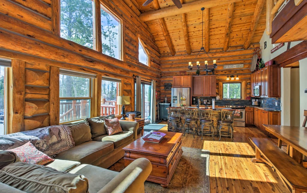 Grand Lake Cabin W Direct Access To Rocky Mtn Np
