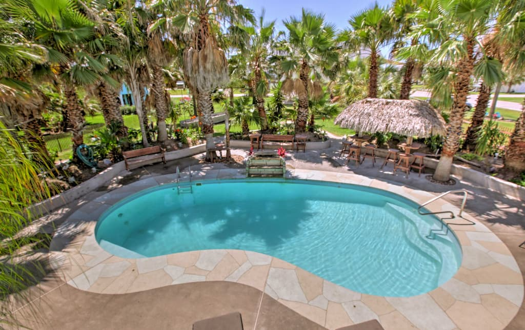 Outstanding Under The Palms Galveston Home W Private Pool Home Interior And Landscaping Elinuenasavecom