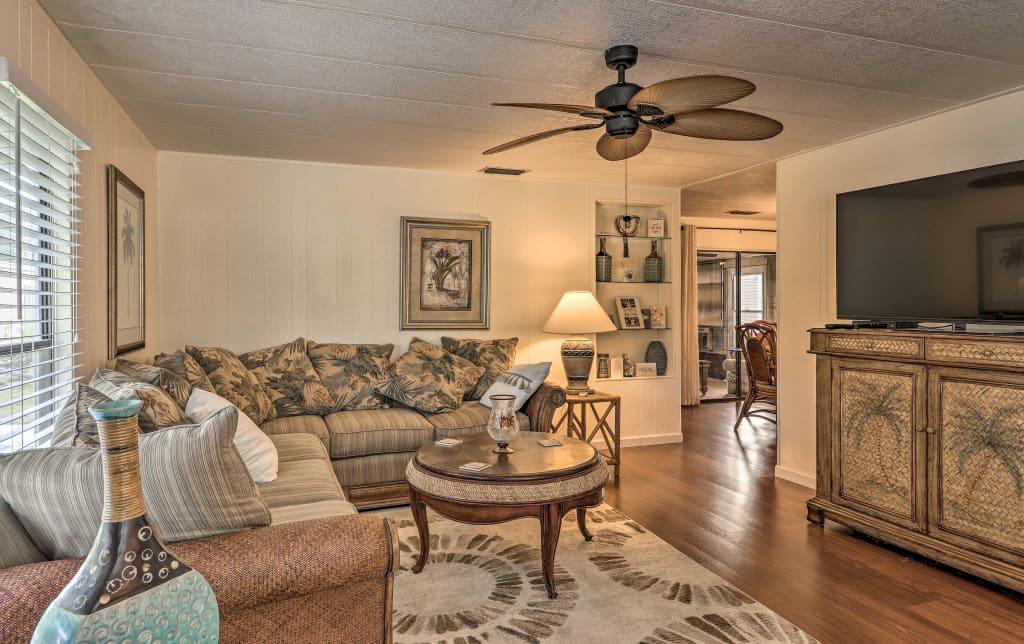New Retro Vero Beach Resort Home W Florida Room