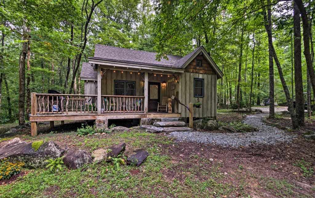 Awesome New Cozy Creekside Cabin By Table Rock State Park Download Free Architecture Designs Boapuretrmadebymaigaardcom
