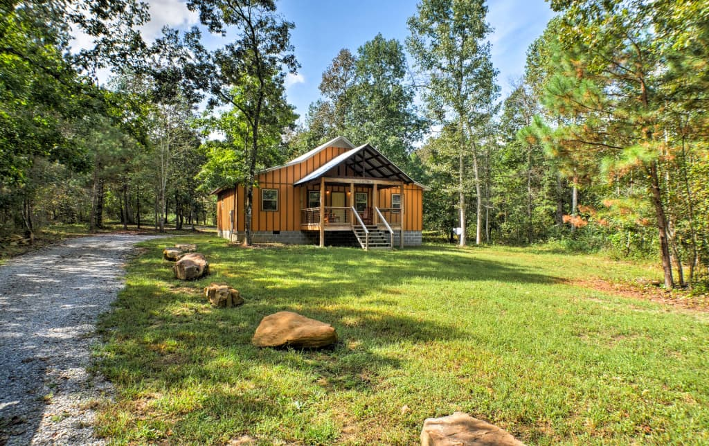 New Newly Built Cabin 3 Mi To Little River Canyon