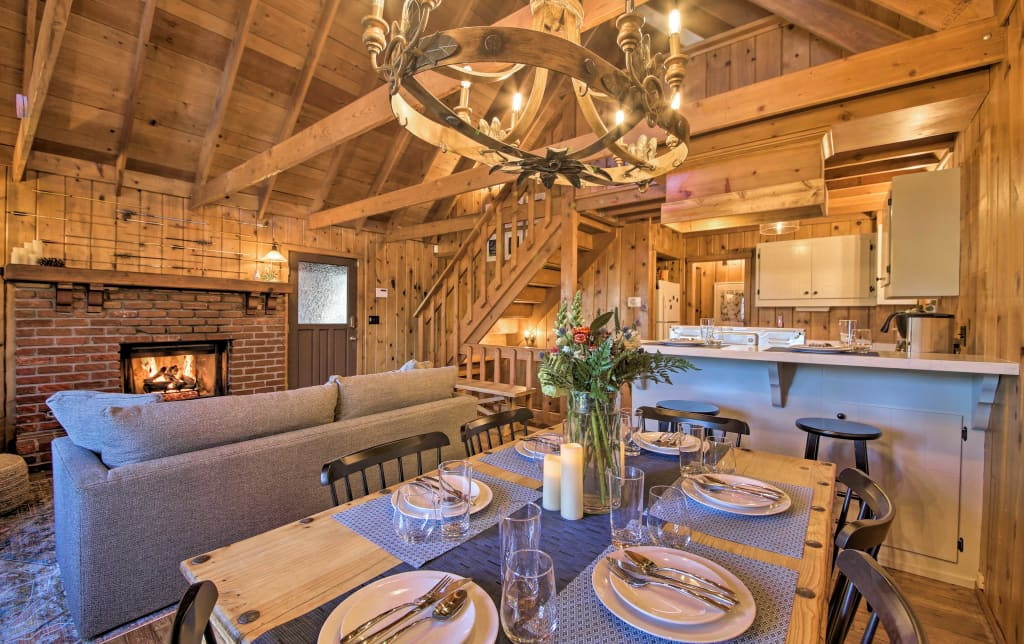 Chic Lake Arrowhead Cabin w/ Deck: 2 Mi to Village