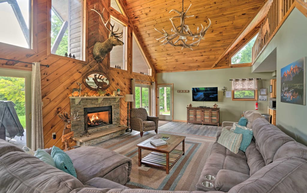 3 Acre Benezette Cabin W Hot Tub Grill Mtn View
