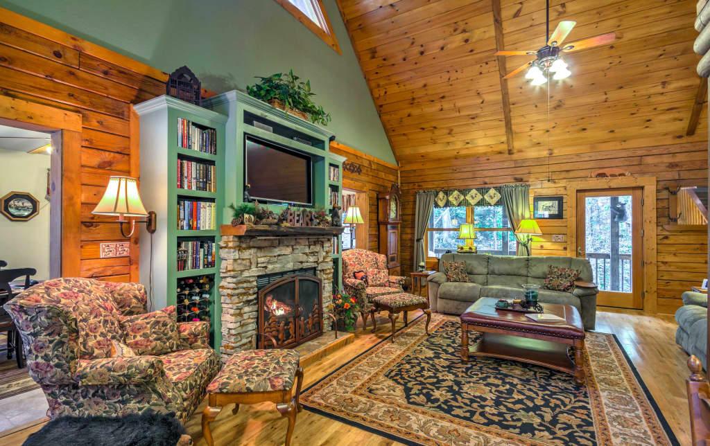 NEW! Remodeled Sapphire Resort Cabin In Nantahala! on nantahala garrell and associates, nantahala gable kitchen, nantahala cottage,