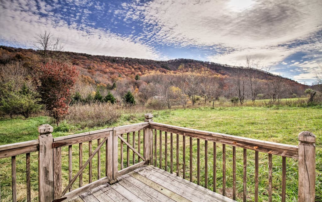 NEW-Private 'Wheats Valley Lodge' Near James River