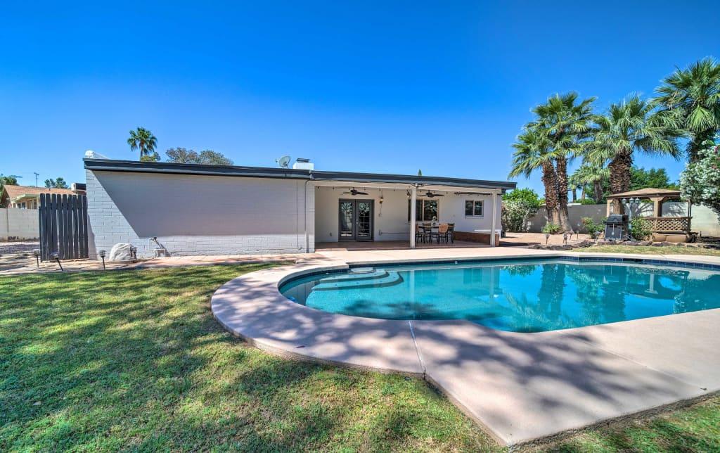 NEW! Phoenix House w/ Pool, Patio, Gazebo & Grill!