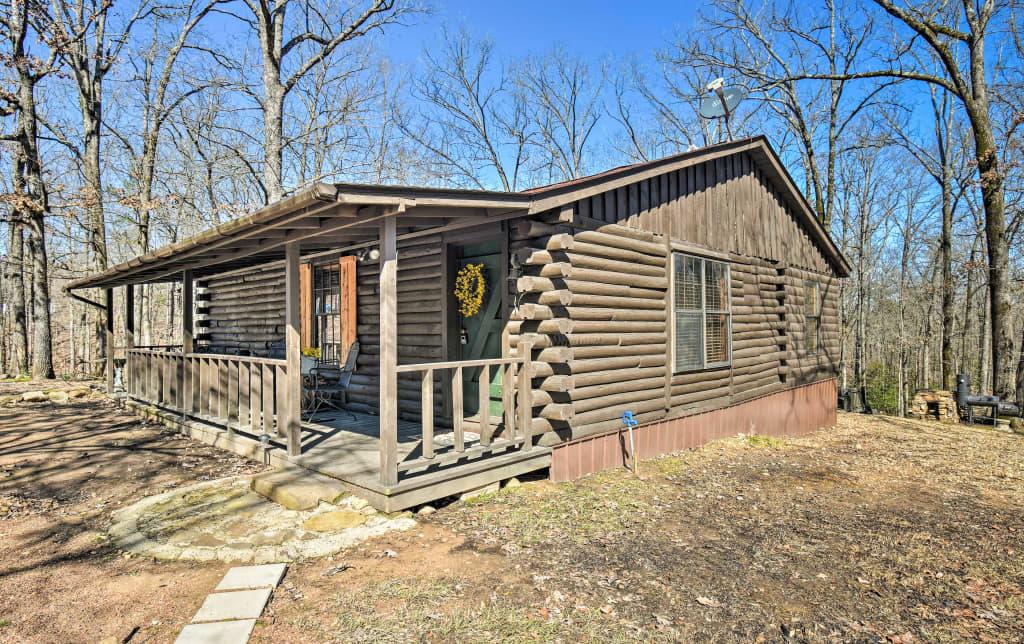 New Murfreesboro Cabin W Fire Pit By Lake Greeson
