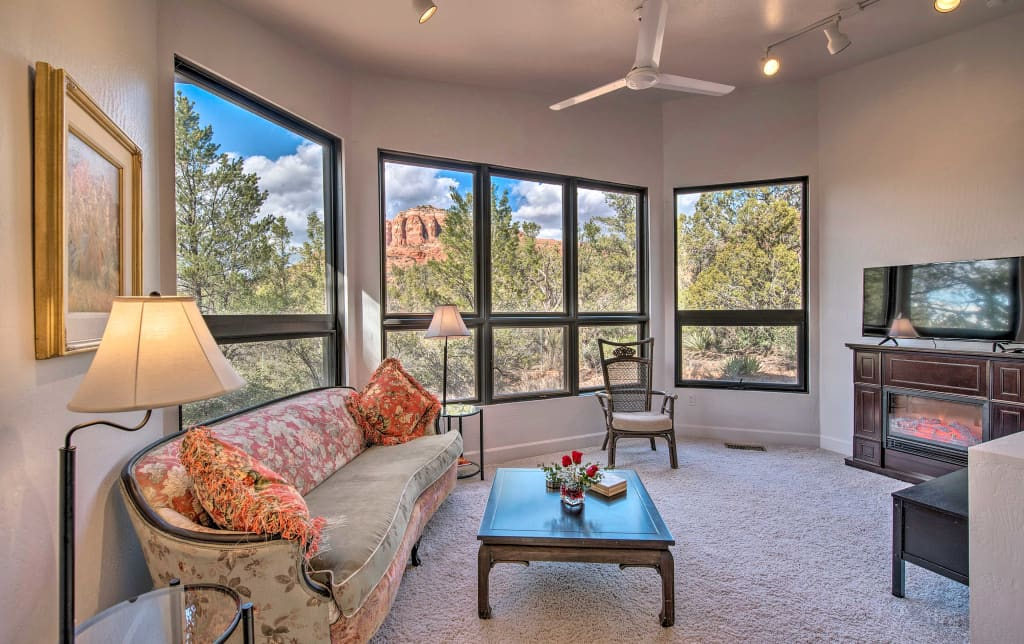 NEW! Sedona Apt  w/ Private Patio & Red Rock Views