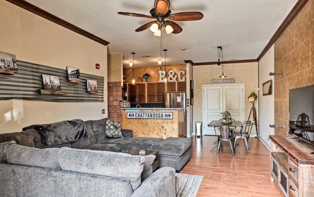 New Cozy Chattanooga Condo Southside Downtown