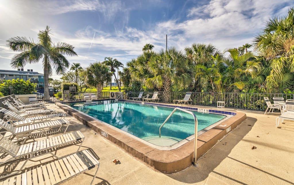 NEW! Bradenton Beach Resort Condo w/ Pool Access!