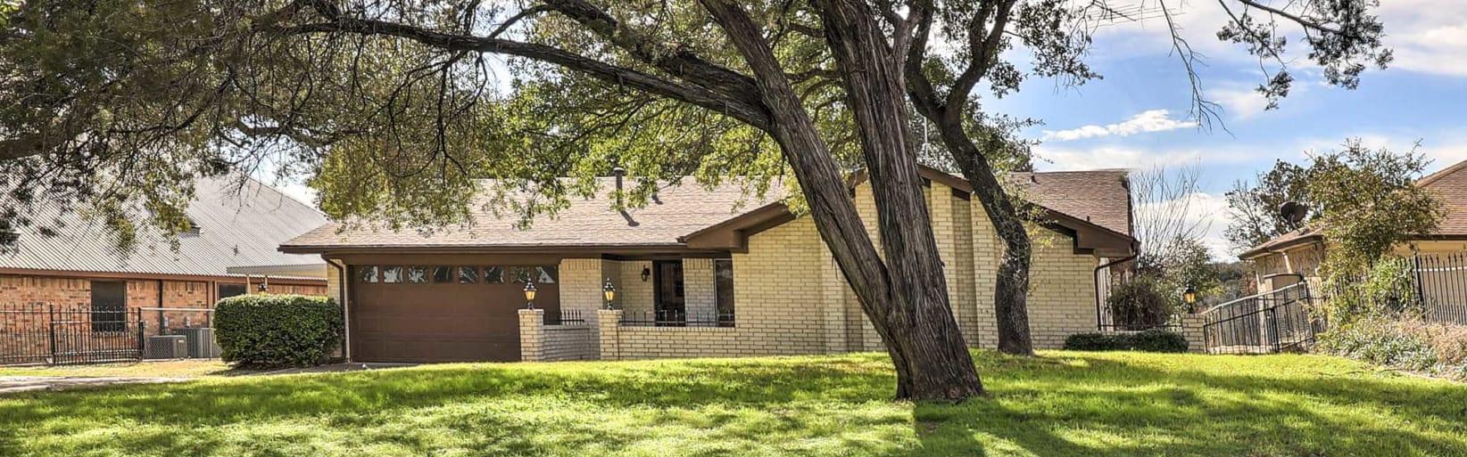 A property in Granbury, TX.