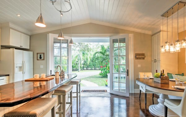 Upscale, light-filled tiny home vacation rental in Sarasota, FL