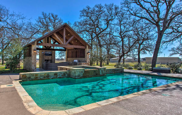 Texas vacation rental with private outdoor pool