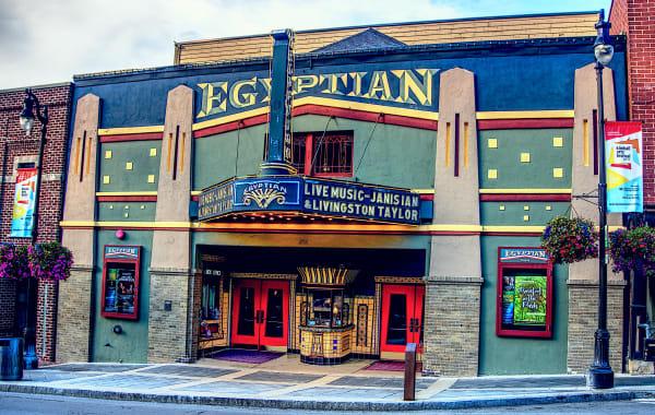 Egyptian Theater in Park City, Utah