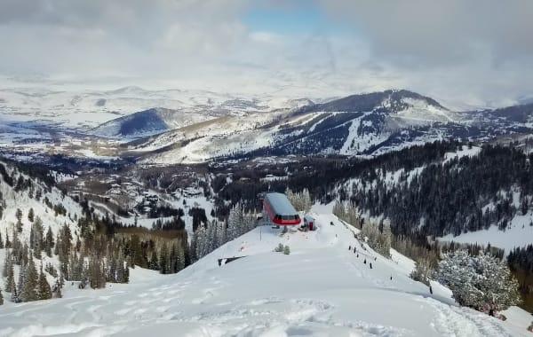 Ninety-Nine 90 Lift at Park City Mountain Resort