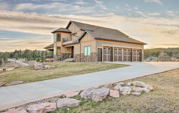 Vacation rental home in Sturgiss, South Dakota