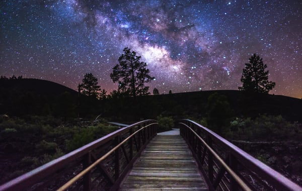 Stargazing at Flagstaff National Monuments in the U.S.
