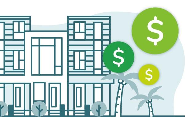 Orlando vacation rental investment illustration