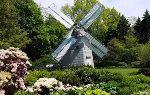 Photo of windmill at Heritage Museum and Gardens in Cape Cod, MA
