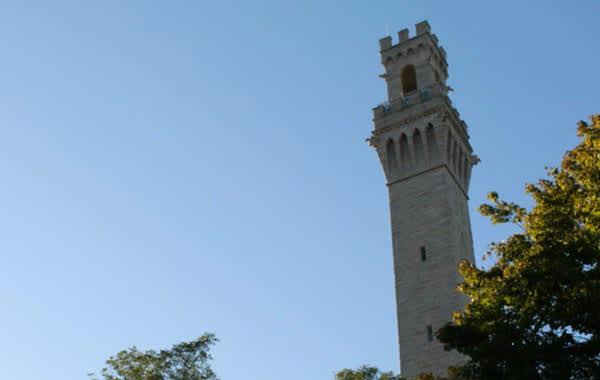 Pilgrim monument in Cape Cod, MA