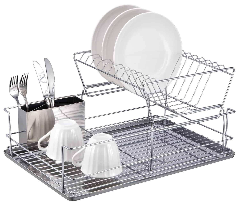dish rack storage kitchen