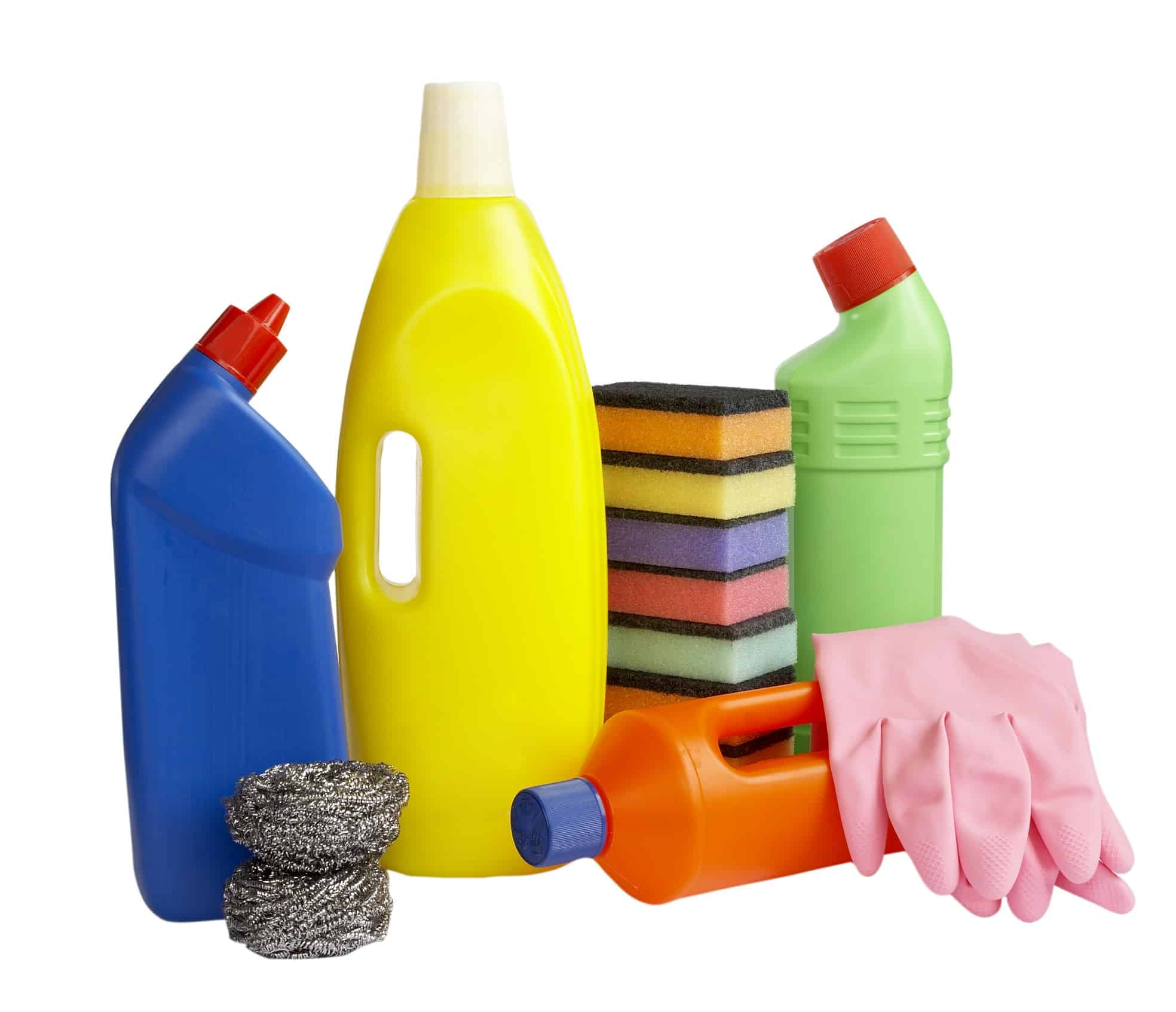 cleaning supplies kitchen