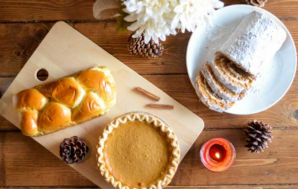Leave seasonal holiday treats to welcome airbnb vacation rental guests.