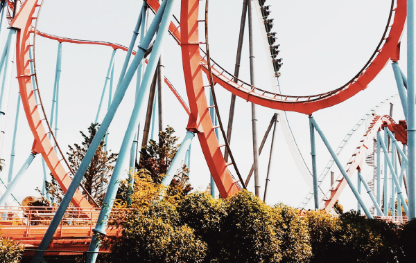 Silver Dollar City roller coasters in Branson, MO