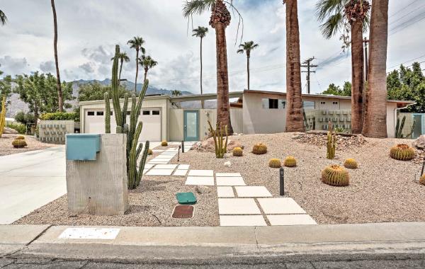 Palm Springs, California vacation rental perfect for desert getaways